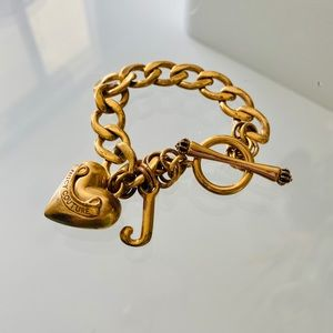 Lightly used Juicy Couture iconic bracelet